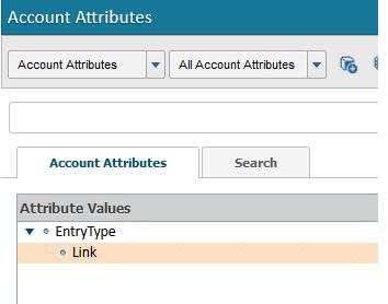 Account Attributes